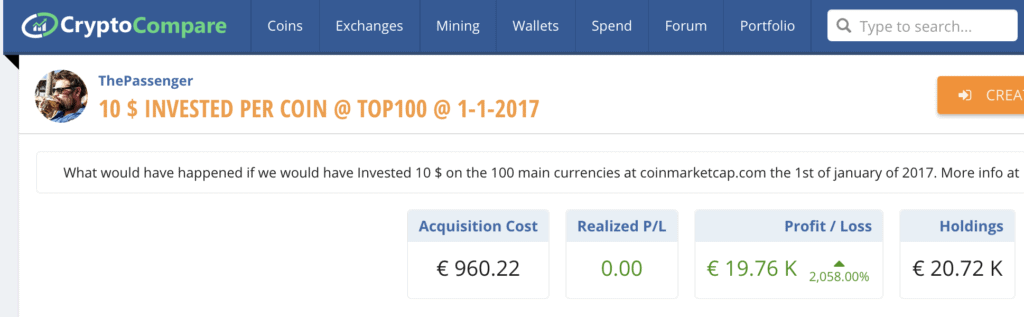 invest in top 100 altcoins
